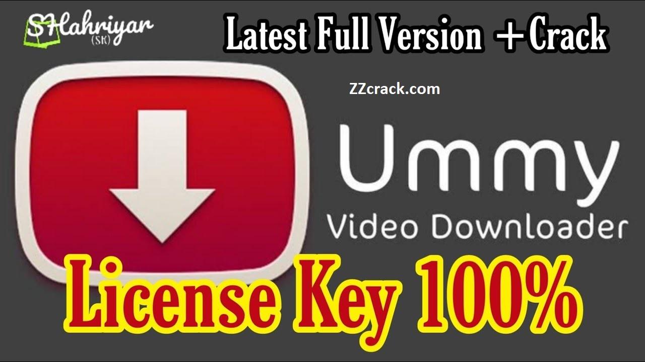 Ummy video downloader serial key