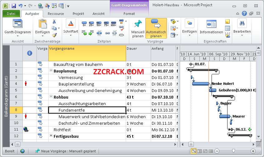 Microsoft Project Full Crack