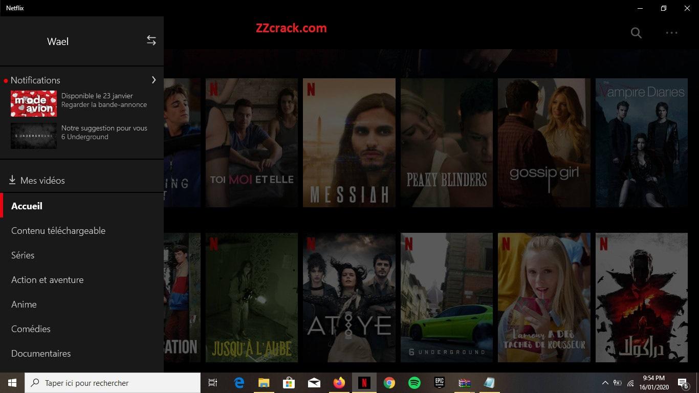 Netflix Crack Activation key