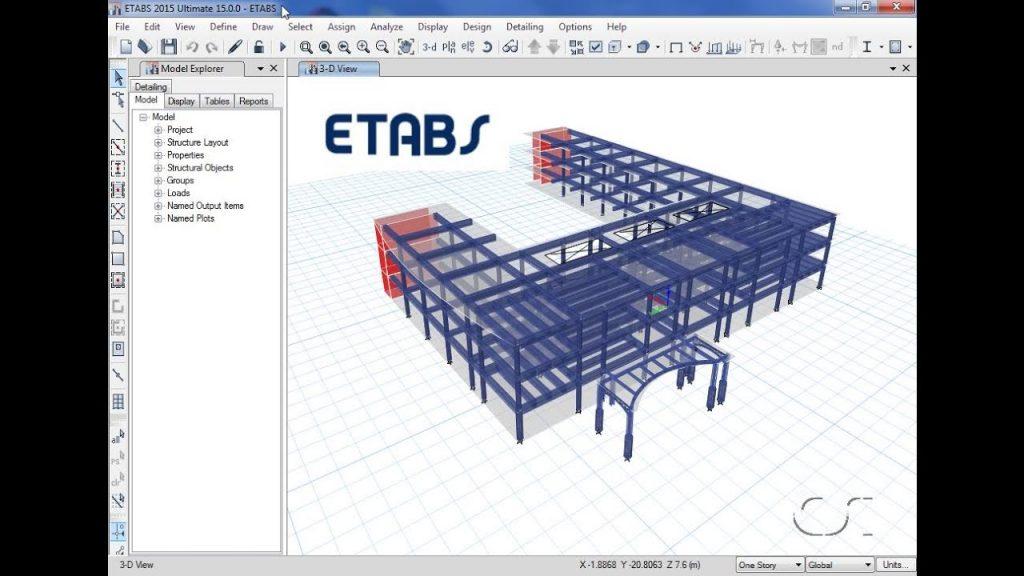 ETABS Crack + Torrent Free Download