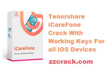 Tenorshare iCareFone Crack Registration Code